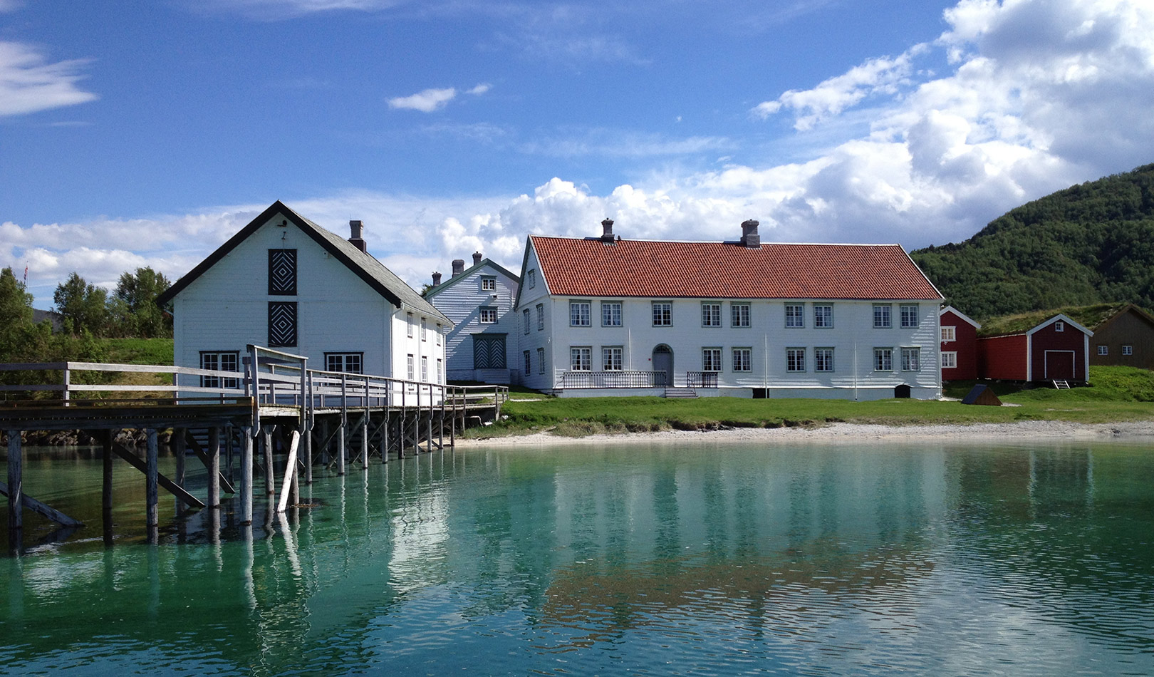 The old trading post at Kjerringøy.
