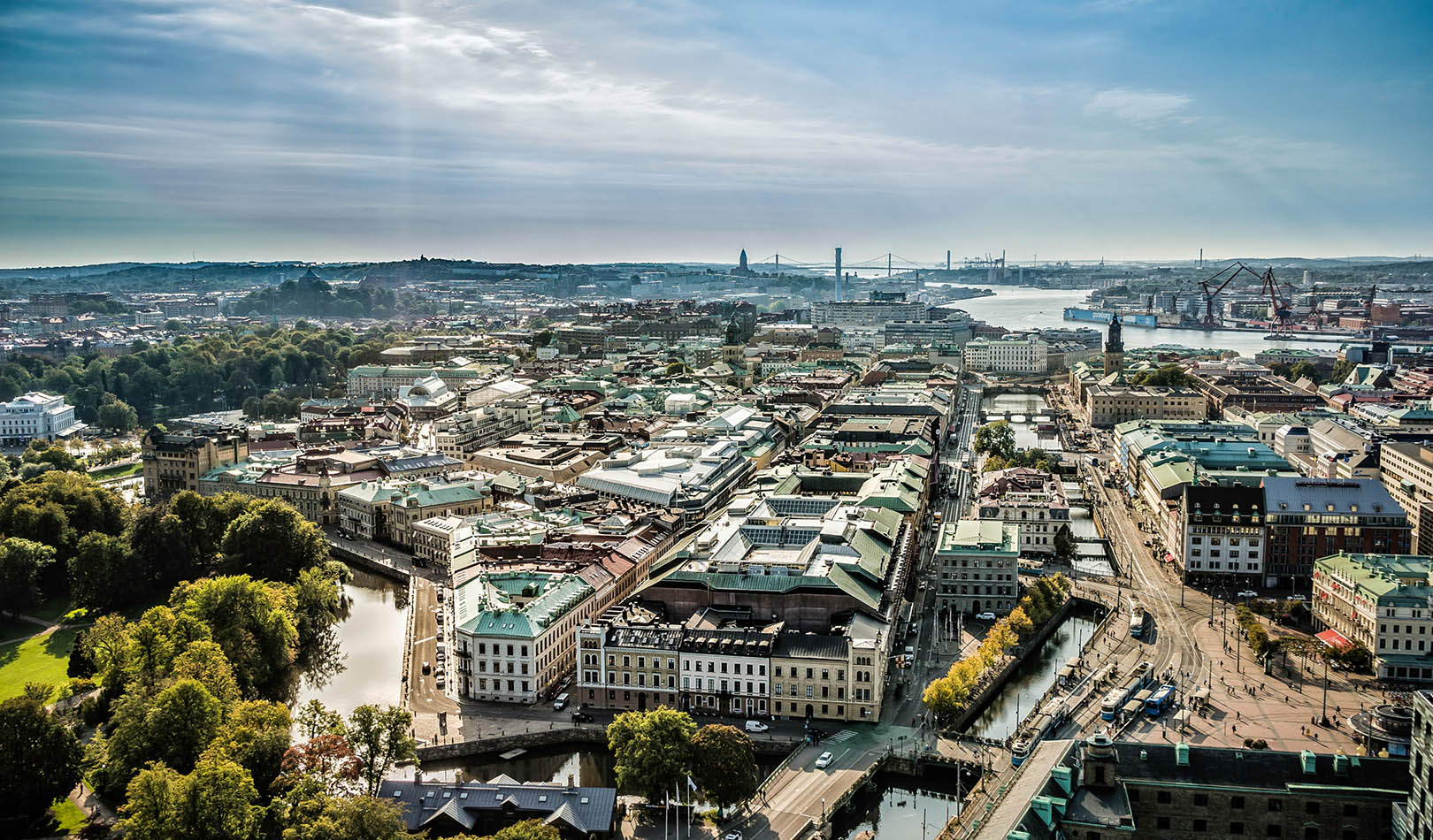 View over Gothenburg.
