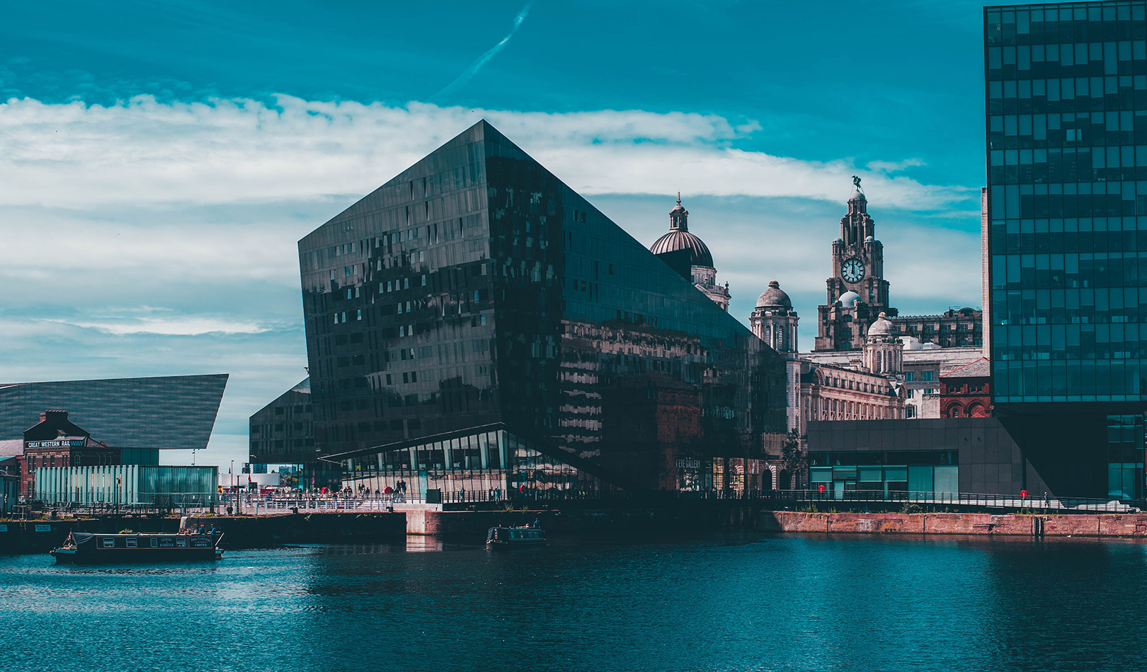 Albert Dock and Tate Liverpool
