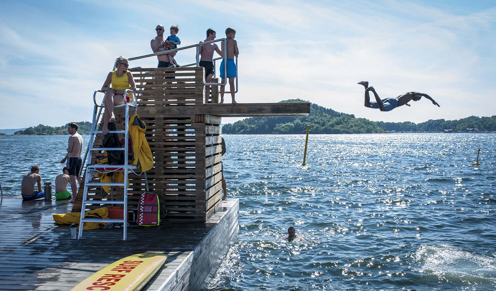 Diving in the Oslo Fjord